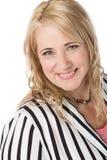 Blondynki caucasian bizneswoman fotografia stock