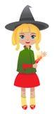 blondynki czarownica Obrazy Stock