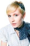 blondynki czysty dziewczyny romantyczna skóra Fotografia Stock