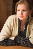 Blondynki dorosła kobieta fotografia royalty free