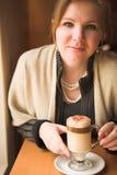 blondynki dorosła kobieta zdjęcie stock