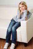blondynki dziewczyna Zdjęcia Stock