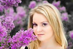 blondynki dziewczyna Zdjęcie Royalty Free