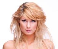 Blondynki dziewczyna Obrazy Stock
