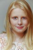 Blondynki Dziewczyna Fotografia Stock