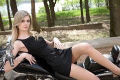 blondynki dziewczyna Obrazy Royalty Free