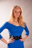 blondynki dziewczyny dosyć zmysłowi potomstwa obrazy stock