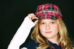 blondynki dziewczyny kapelusz trochę Fotografia Royalty Free