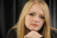 blondynki dziewczyny portreta ładni potomstwa fotografia royalty free