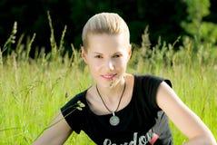 blondynki dziewczyny potomstwa Fotografia Stock