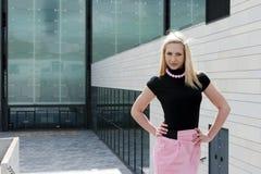 blondynki dziewczyny target2211_0_ Obrazy Royalty Free
