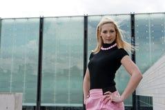 blondynki dziewczyny target2683_0_ Zdjęcia Stock