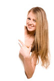 blondynki ja target1396_0_ Obrazy Royalty Free