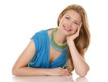 Blondynki kobieta Zdjęcia Stock