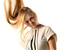 Blondynki kobieta Obraz Stock