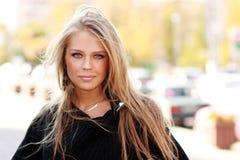 blondynki kobieta zamknięta zdjęcia stock