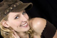 blondynki kobiety model obraz royalty free