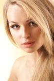 Blondynki młoda dziewczyna Obrazy Stock