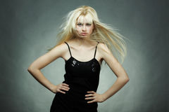 blondynki mody portreta kobiety potomstwa Obraz Stock