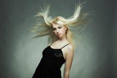 blondynki mody portreta kobiety potomstwa Fotografia Royalty Free