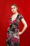 blondynki mody potomstwa obraz stock