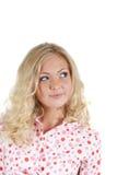 blondynki piękna kobieta Zdjęcia Royalty Free