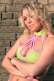 blondynki piękna kobieta Zdjęcie Royalty Free