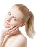 blondynki piękny ponytail Zdjęcia Royalty Free