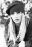blondynki portret dziewczyny obrazy stock
