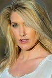 blondynki pustyni model Zdjęcie Stock