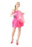 blondynki zakupy kobieta Obrazy Royalty Free