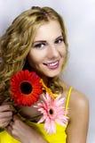 blondynu model Zdjęcia Royalty Free