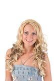 blondynu wieczór smokingowa dziewczyna Fotografia Stock