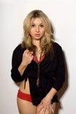 blondynów zdziweni kobiety potomstwa Obrazy Royalty Free