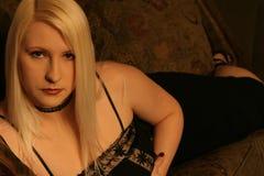 Blondyny Black2 Fotografia Royalty Free