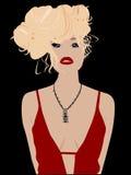 blondyny seksowni Zdjęcia Stock