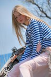 blont fartyg Royaltyfri Fotografi