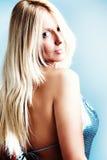 blont hår Royaltyfria Bilder