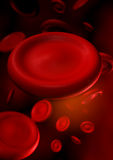 Blood. 3d abstract blood red cells Royalty Free Stock Images