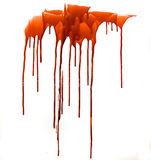 Blood. Drips of gorey blood for your renders royalty free stock photos