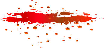 Blood. Illustration created in adobe illustration Royalty Free Stock Photo