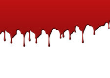 Blood. Splat on white background Royalty Free Stock Image