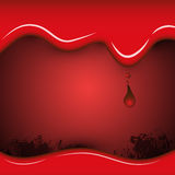 Blood abstract background. EPS 10 Vector Vector Illustration