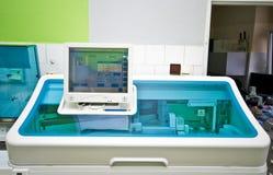 Blood analysis laboratory Royalty Free Stock Image