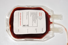 Blood bag Royalty Free Stock Photo