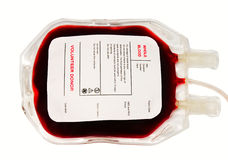 Blood bag Royalty Free Stock Photography