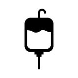 Blood bag donation icon Royalty Free Stock Photo