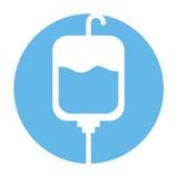 Blood bag donation icon Stock Image
