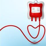 Blood Bag illustration Stock Photos