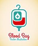 Blood bag Royalty Free Stock Image